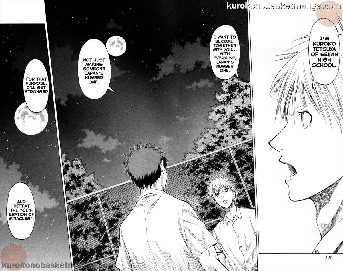 Kuroko no Basket Manga Chapter 57 - Image 14-15