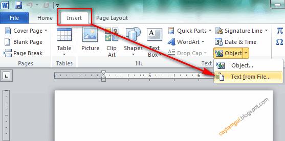 Hướng dẫn gộp nhiều file Word thành một