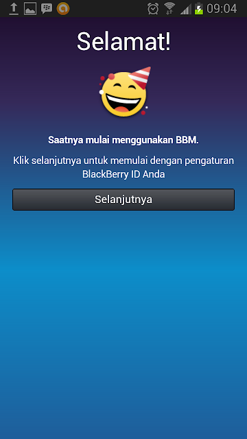 Congrulation for using BBM