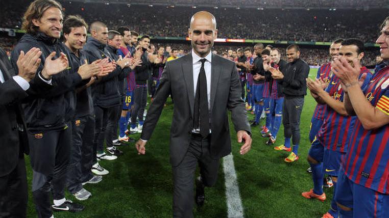 Pep Guardiola, la Magia un Líder