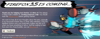 Firefox 3.5 beta 4 disponible