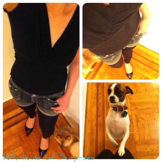 Easy fall fashion legging looks with Duane Reade Legwear