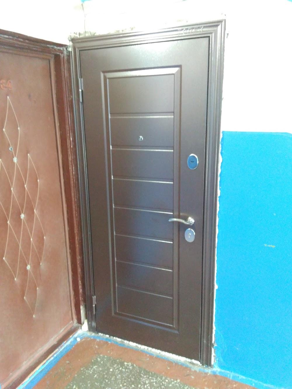 поставить наружные двери стальные благовещенск