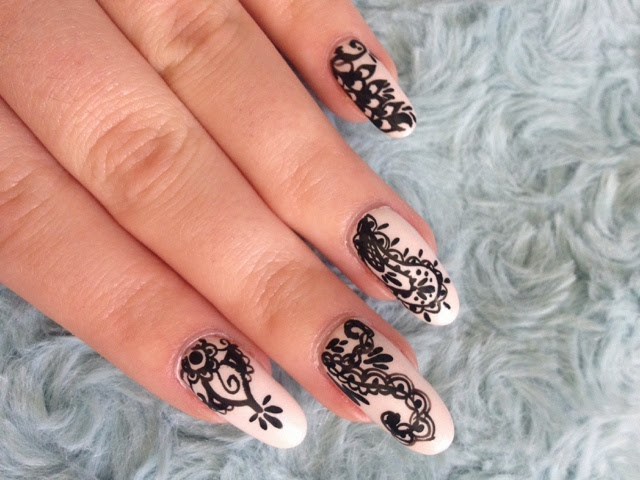 Chanel S Nails Henna Inspired Nail Art