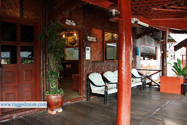 Dragon Inn, one of Malaysia's floating hotel