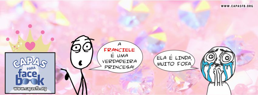 Capas para Facebook Franciele