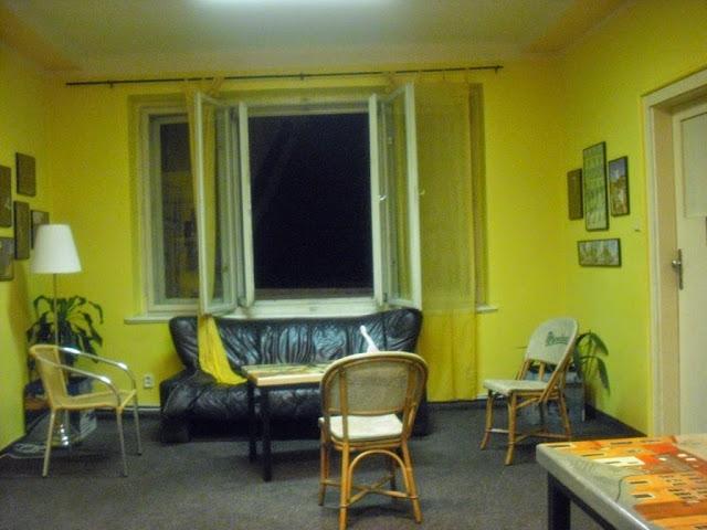 Hostel en Praga