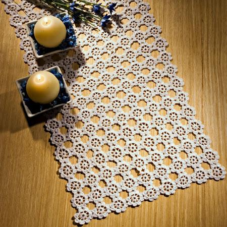 caminho mesa croche