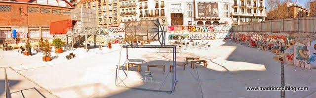 MADRID COOL BLOG campo de cebada espacio de autogestión vecinal la latina