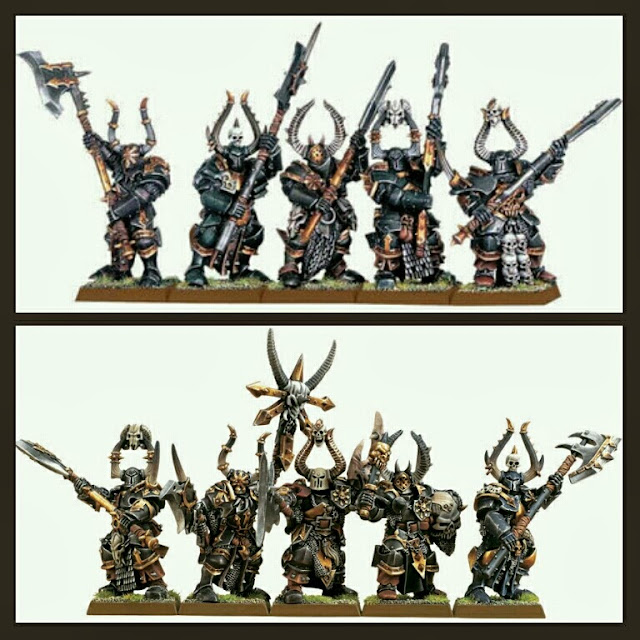 Cajas Guerreros del Caos Games Workshop