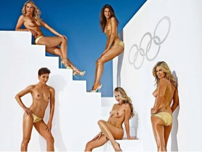 Londres: Originales atletas olímpicas de Alemania