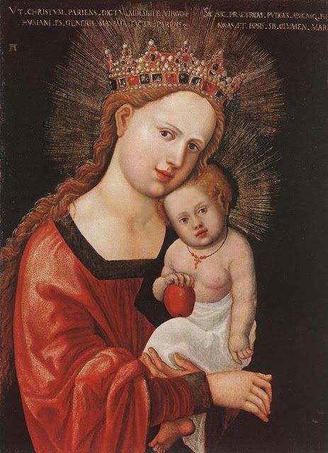 Albrecht Altdorfer - Mary with the Child