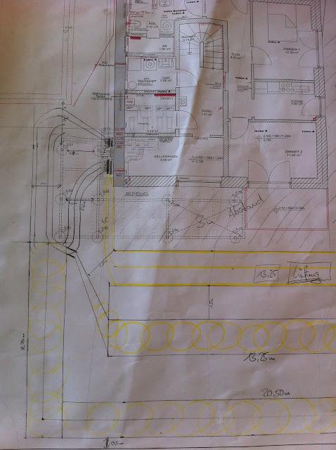 verlegeplan grabenkollektor passivhaus haustechnikdialog. Black Bedroom Furniture Sets. Home Design Ideas
