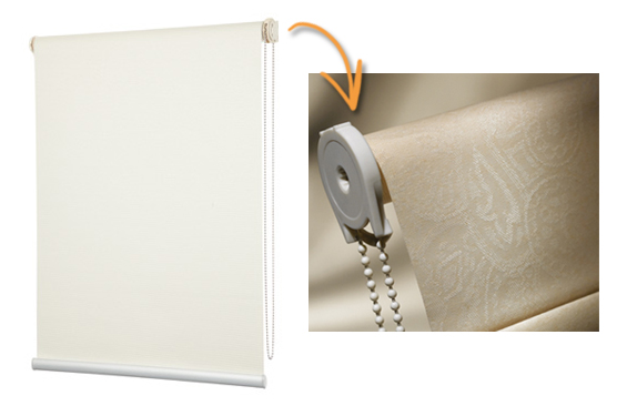 Roller Blind Plastic Mechanism and Chain