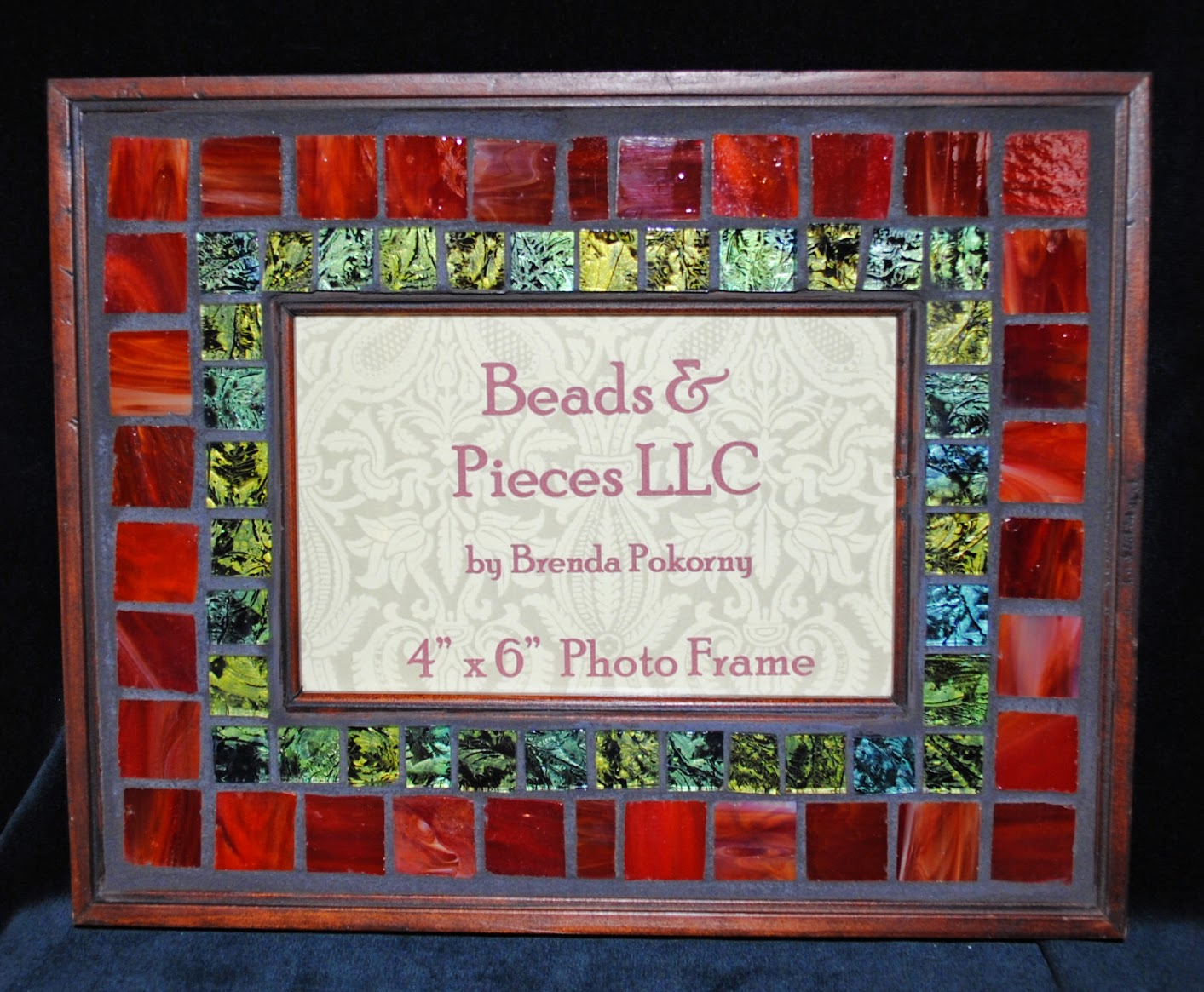 Holiday Mosaic & Collage Photo Frames