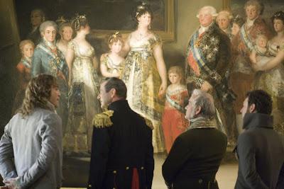 """Goya's Ghosts"" Javier Bardem, Julian Wadham, Carlos Miranda"