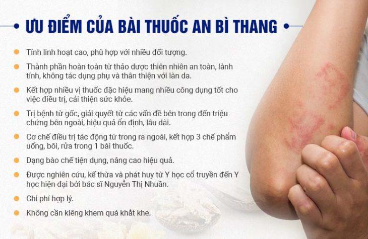Những điểm vượt trội trong điều trị của bài thuốc An Bì Thang