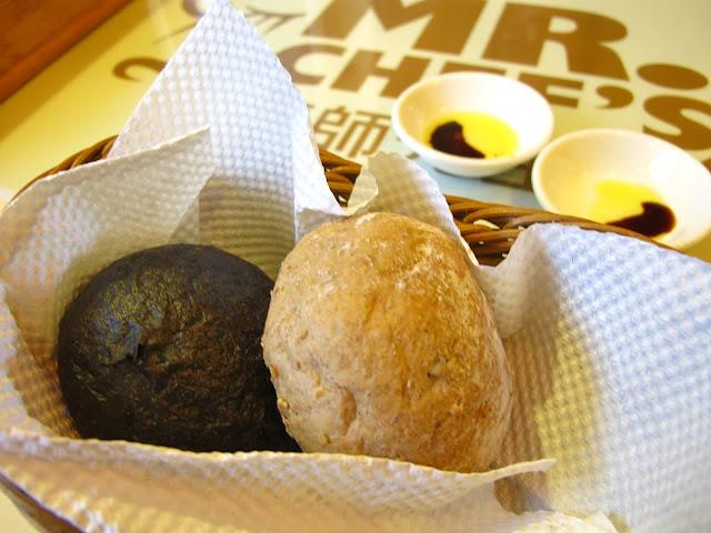 MR.CHEF'S廚師先生義大利麵 - A、B餐都有的餐前麵包