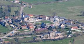 Vue aérienne Bourg