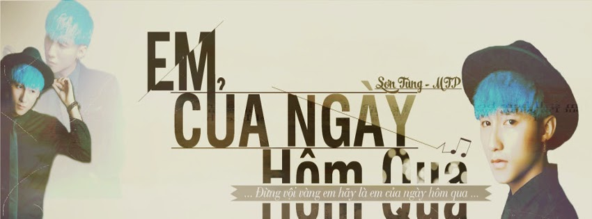 Tải ảnh bìa Sơn Tùng M-TP đẹp nhất cho Facebook