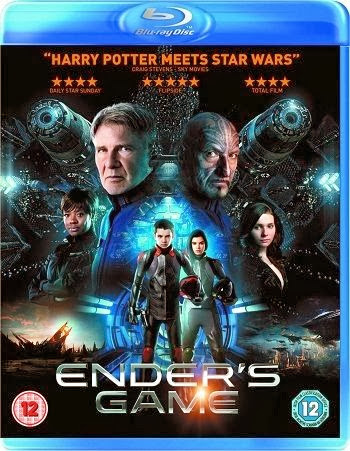Filme Poster Ender's Game – O Jogo do Exterminador BRRip XviD & RMVB Legendado