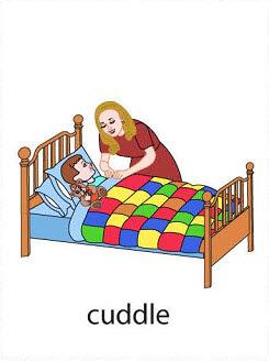 cuddle%2520 %2520flashcard Verb flashcard