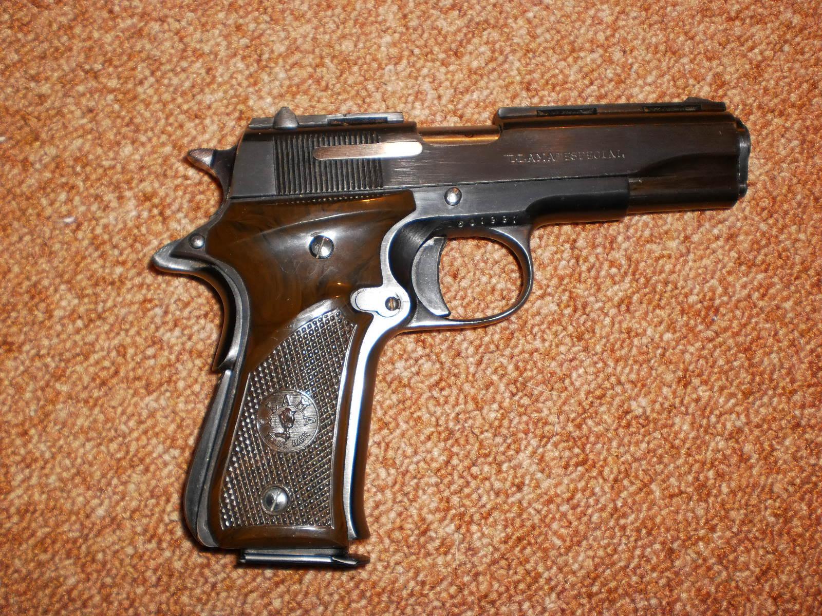 Llama 380 pistol Manual