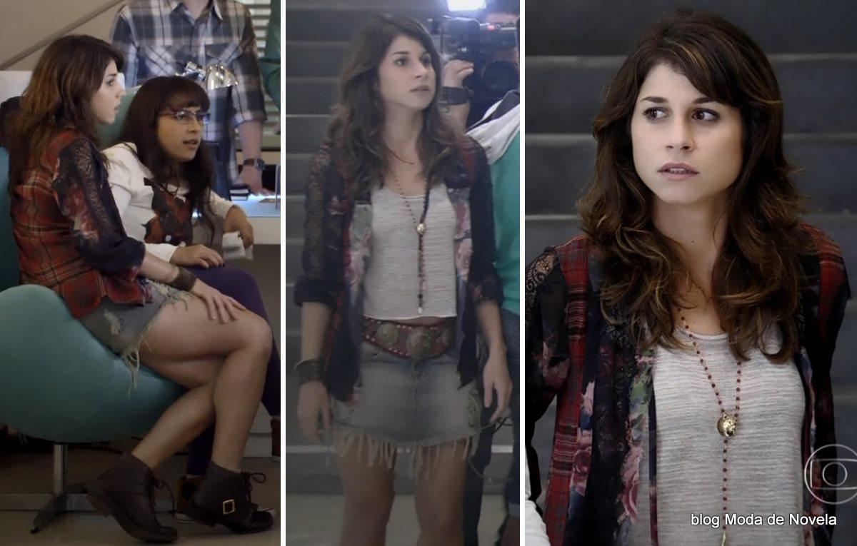 moda da novela Geração Brasil - look da Manuela dia 29 de maio