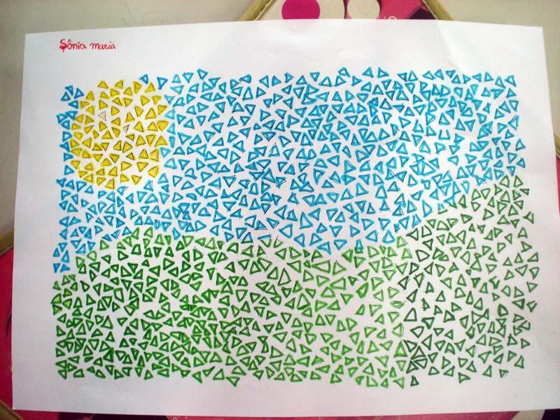 blog do professor eduardo mosaico para colorir