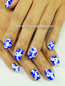 Looks Like Porcelain Nail Art by Simply Rins