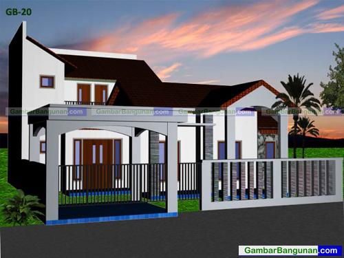 desain rumah di cilegon