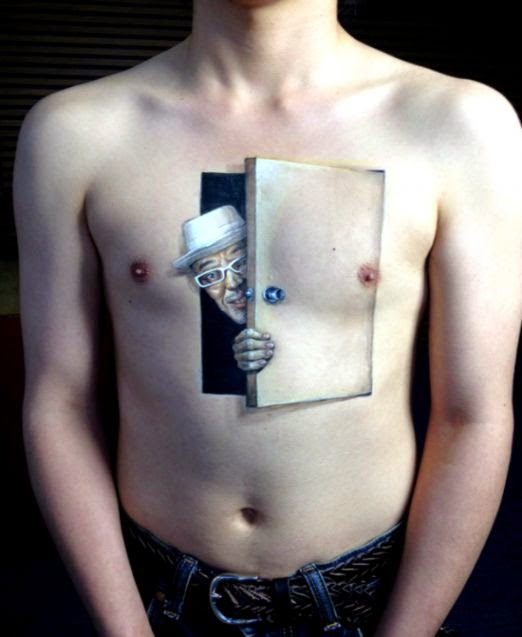 20 Creative Body Art by Japanese Artist Chooo San   Illusion and