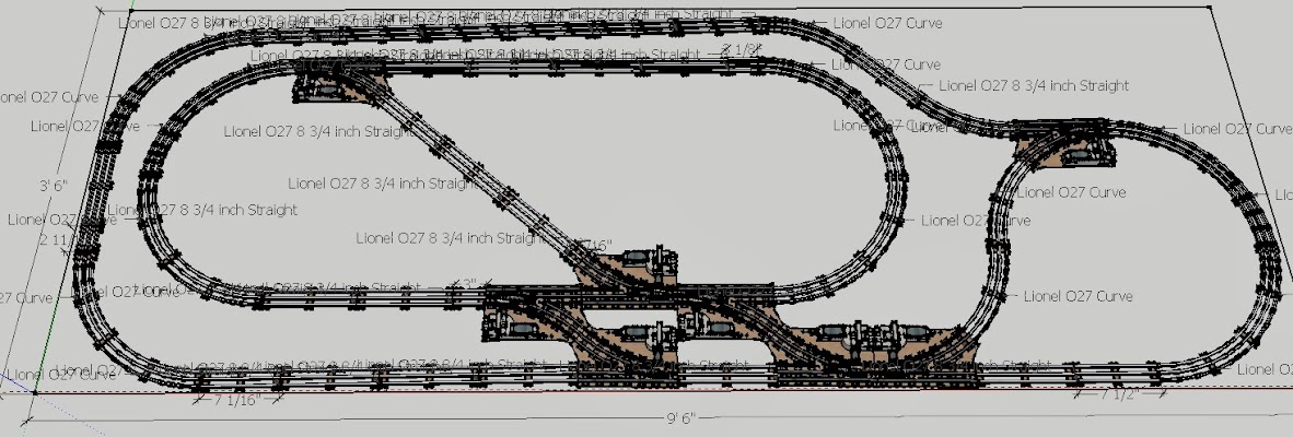u0026quot fiat u0026quot  o27 track layout idea - model train forum