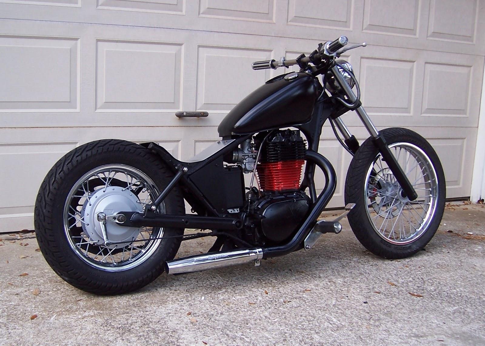 BOBS CHOP SHOP  1986 suzuki savage ls650 bobber   chopper