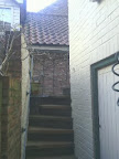 The Privacy afforded by a set of steps up round a corner
