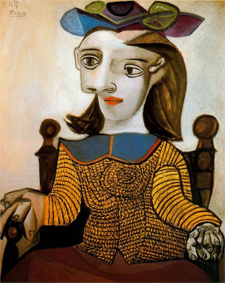 Pablo Picasso - The yellow shirt (Dora Maar), 1939