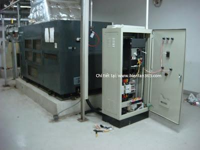 thi công tủ điện máy nén khí tiết kiệm năng lượng
