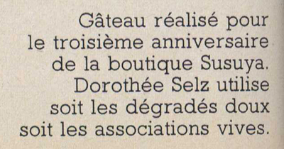 Recette de cuisine vintage : Gâteau d'anniversaire réalisé par Dorothée Selz - Pour vous Madame, pour vous Monsieur, des publicités, illustrations et rédactionnels choisis avec amour dans des publications des années 50, 60 et 70. Popcards Factory vous offre des divertissements de qualité. Vous pouvez également nous retrouver sur www.popcards.fr et www.filmfix.fr   - For you Madame, for you Sir, advertising, illustrations and editorials lovingly selected in publications from the fourties, the sixties and the seventies. Popcards Factory offers quality entertainment. You may also find us on www.popcards.fr and www.filmfix.fr