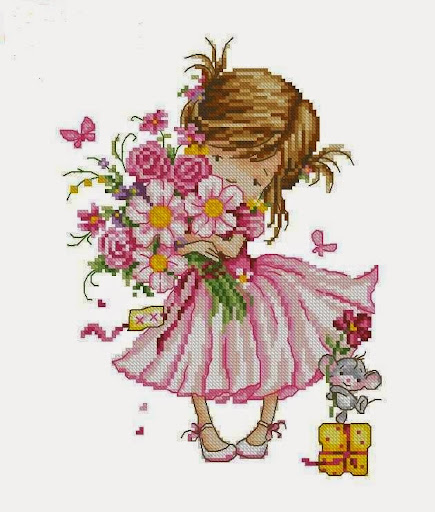 For youcross stitch pattern