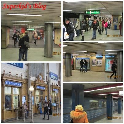 布達佩斯地鐵一景