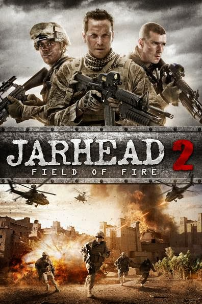 Poster Of Jarhead 2: Field of Fire (2014) Full Movie Hindi Dubbed Free Download Watch Online At Alldownloads4u.Com