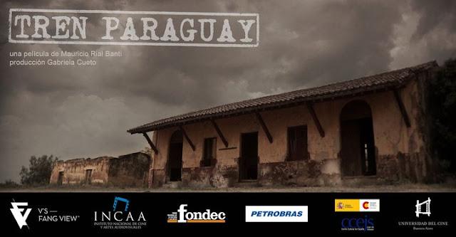 Cartel documental Tren Paraguay, Fuente: Blog Camino Paraguay