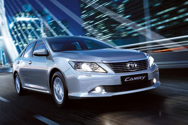 Lebih Hijau Bersama The Future Sedan Toyota All New Camry
