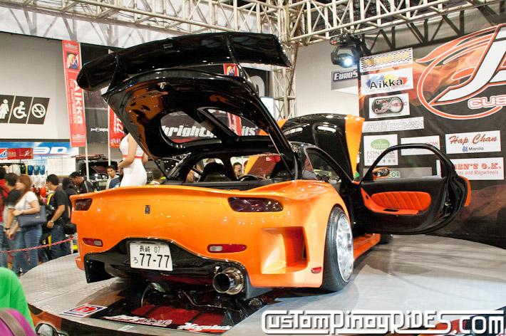 VEILSIDE FORTUNE MAZDA RX-7 TOKYO DRIFT JSK Manila Auto Salon Custom Pinoy Rides Philip Aragones pic4