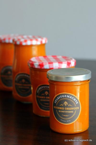 nachgemacht k rbis orangen marmelade sch ner tag noch food blog mit leckeren rezepten f r. Black Bedroom Furniture Sets. Home Design Ideas