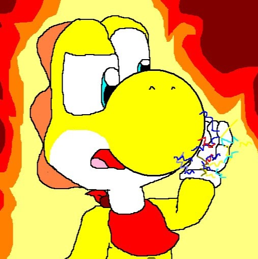 Jackson the Yellow Yoshi image