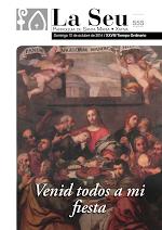 Nº555- Venid todos a mi fiesta. Iglesia Colegial Basílica de Santa María de Xàtiva - Sexto aniversario de la erección de la colegiata.