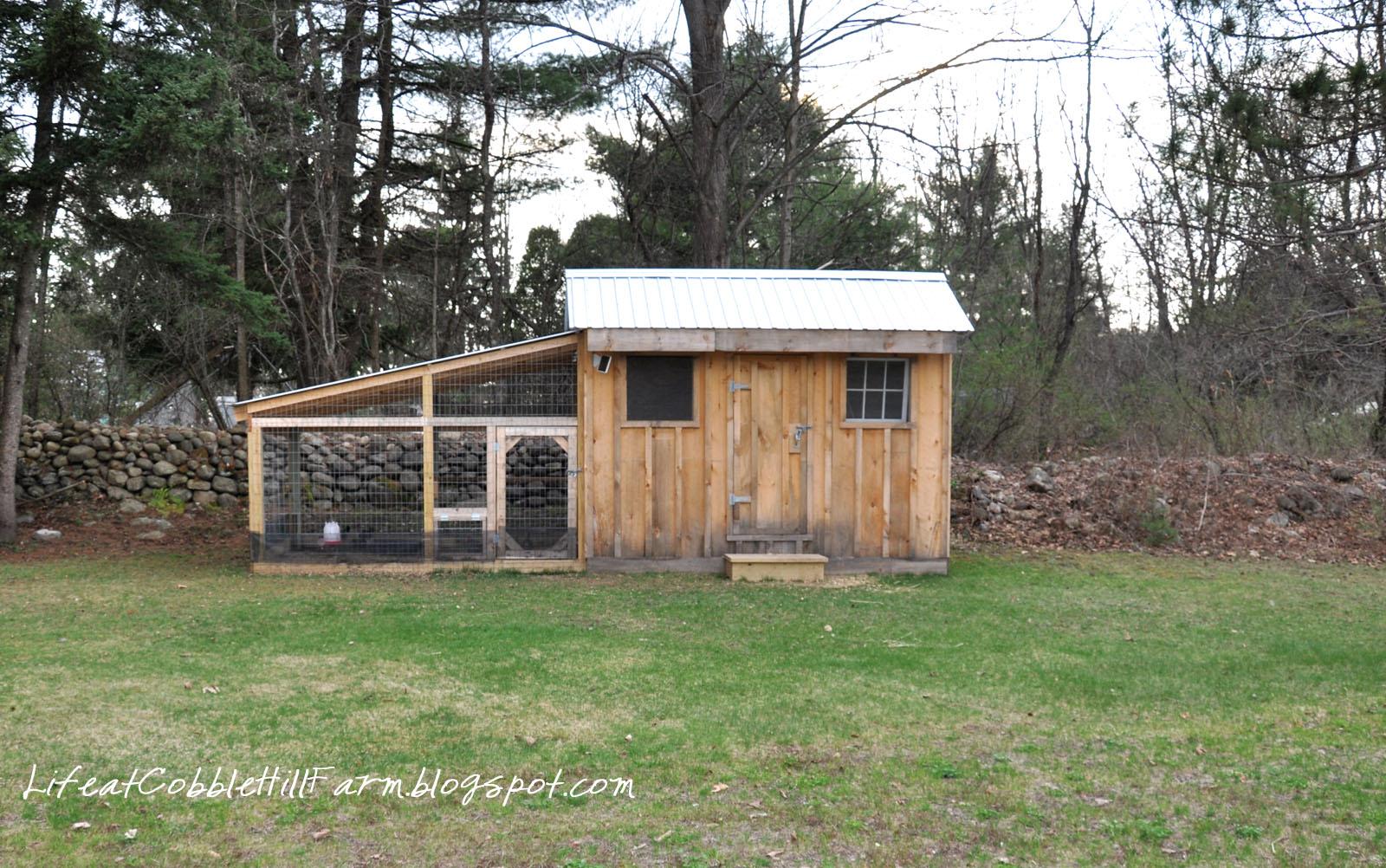 Life At Cobble Hill Farm Chicken Coop 101 Thirteen