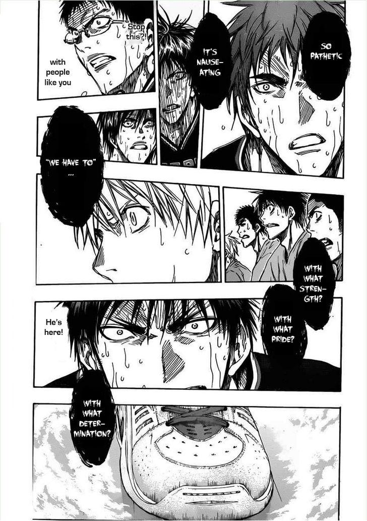 Kuroko no Basket Manga Chapter 155 - Image 15