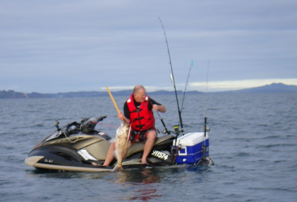 Jet ski fishing blog report 055 the jetskifisho s warm up for Best jet ski for fishing